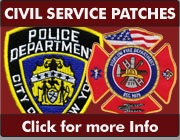 Custom Civil Service Patches